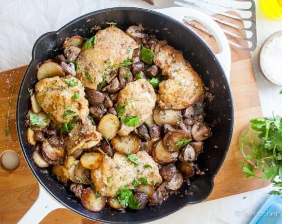 Skillet Mushroom Chicken