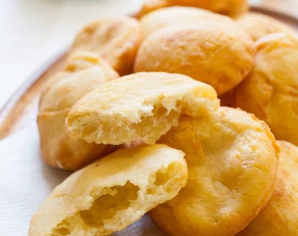 Arepas de Coco (Puerto Rican Coconut Fry Bread)