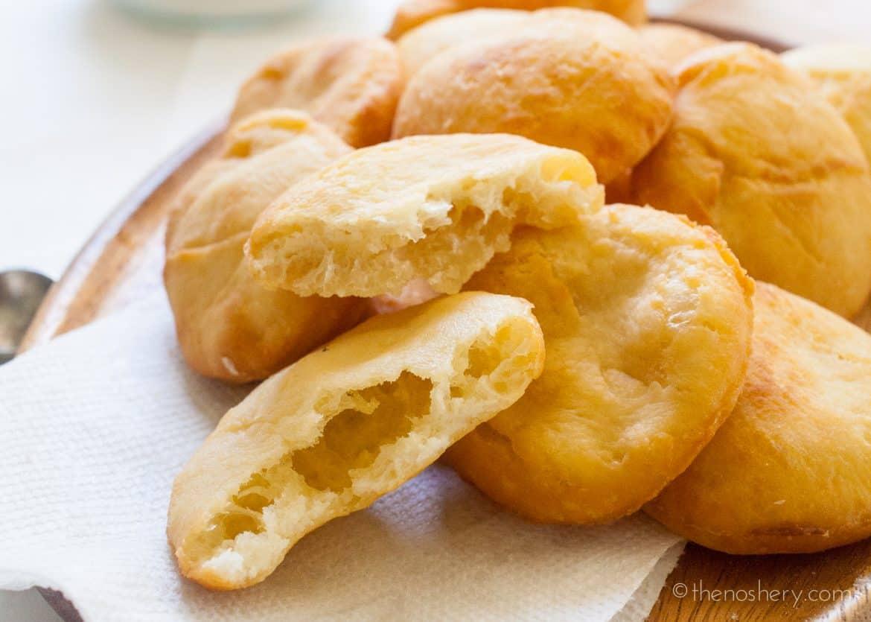 Arepas de Coco (Puerto Rican Coconut Fry Bread  - The