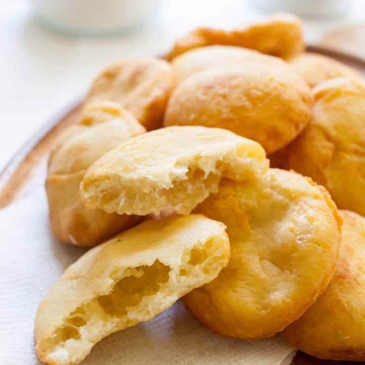 arepas de coco puerto rican coconut fry bread the noshery