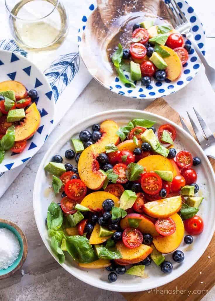 Summer Fruit Dinner Salad