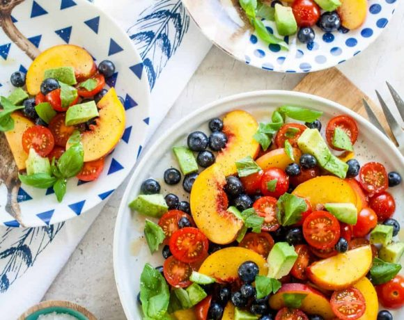 Summer Fruit Dinner Salad