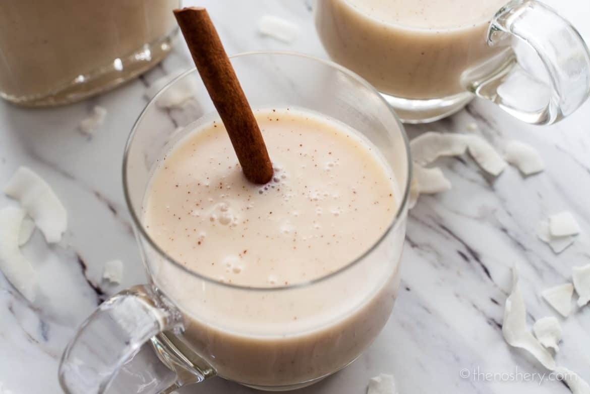 Coquito | Puerto Rican Coconut Nog | The Noshery