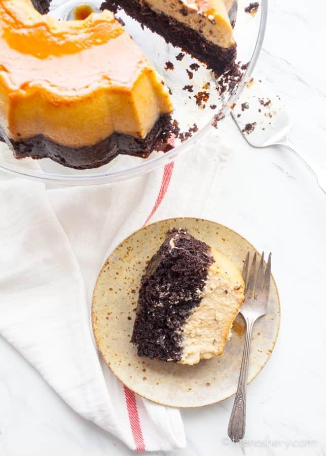 Chocolate and Coffee Flancocho | TheNoshery.com