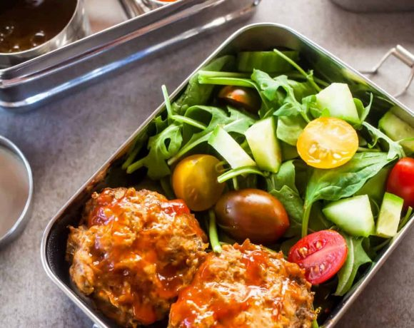 Healthy Lunch | Mini Meatloaf Muffins