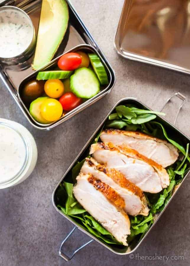Healthy Lunch | Sous Vide Chicken Breast | TheNoshery.com