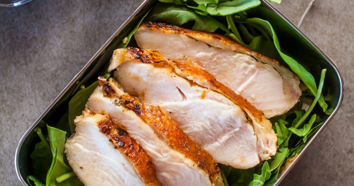 Healthy Lunch | Sous Vide Chicken Breast