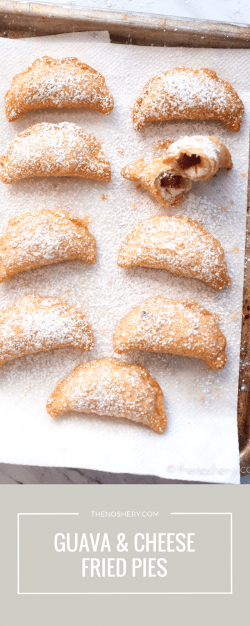 Guava and Cheese Mini Fried Pies | TheNoshery.com