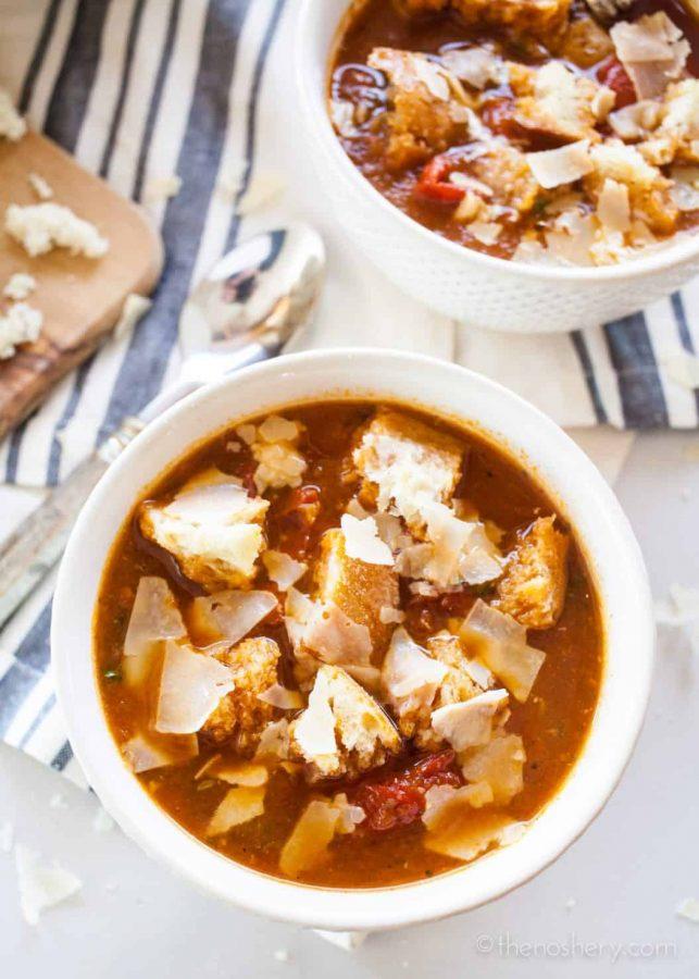 Chunky Tomato Soup | TheNoshery.com