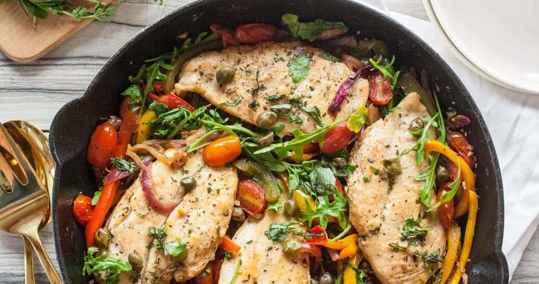 Easy Weeknight Italian Chicken Skillet