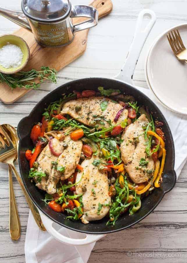 Italian Chicken Skillet | TheNoshery.com