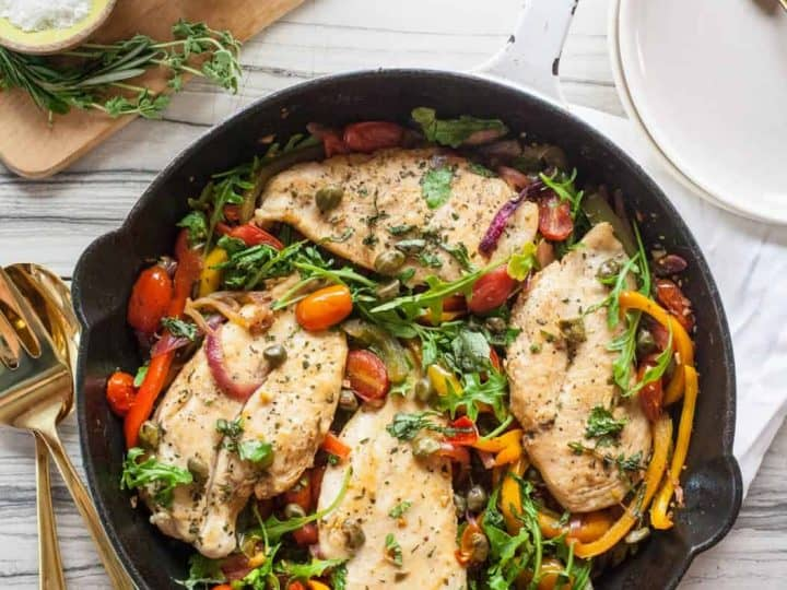 Easy Weeknight Italian Chicken Skillet