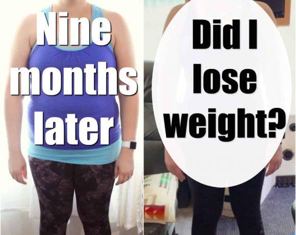 Fitness Progress Nine Months Later