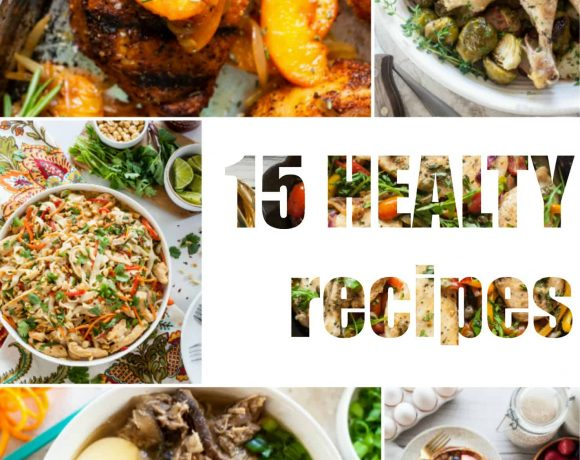 15 Healthy Recipes