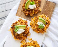 Sweet Potato Latkes | TheNoshery