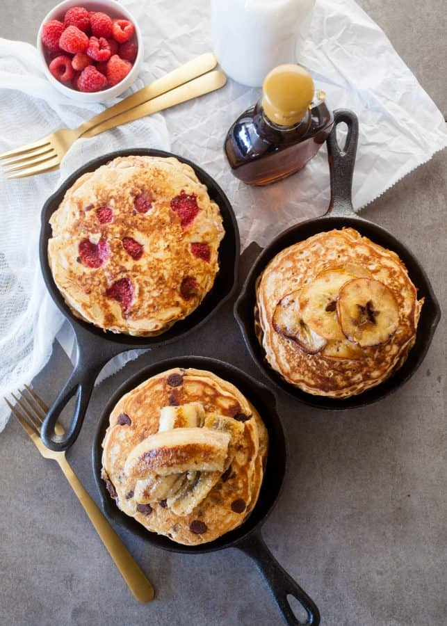 Pancakes Three Ways | The Noshery