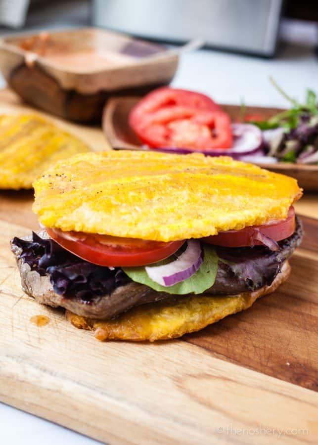 Jibarito (Plantain and Steak Sandwich) | TheNoshery
