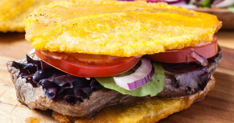 Jibarito (Plantain and Steak Sandwich)