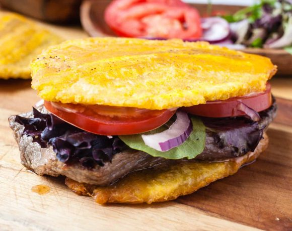 Jibarito (Plantain and Steak Sandwich)