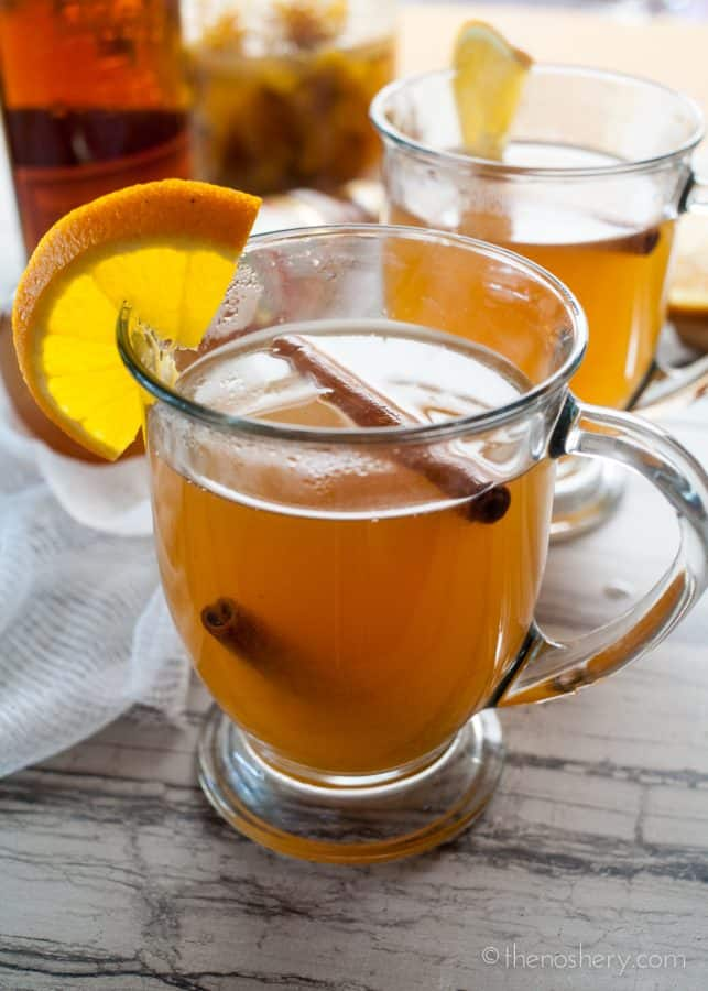 Spiced Orange Shrub Hot Toddy | The Noshery