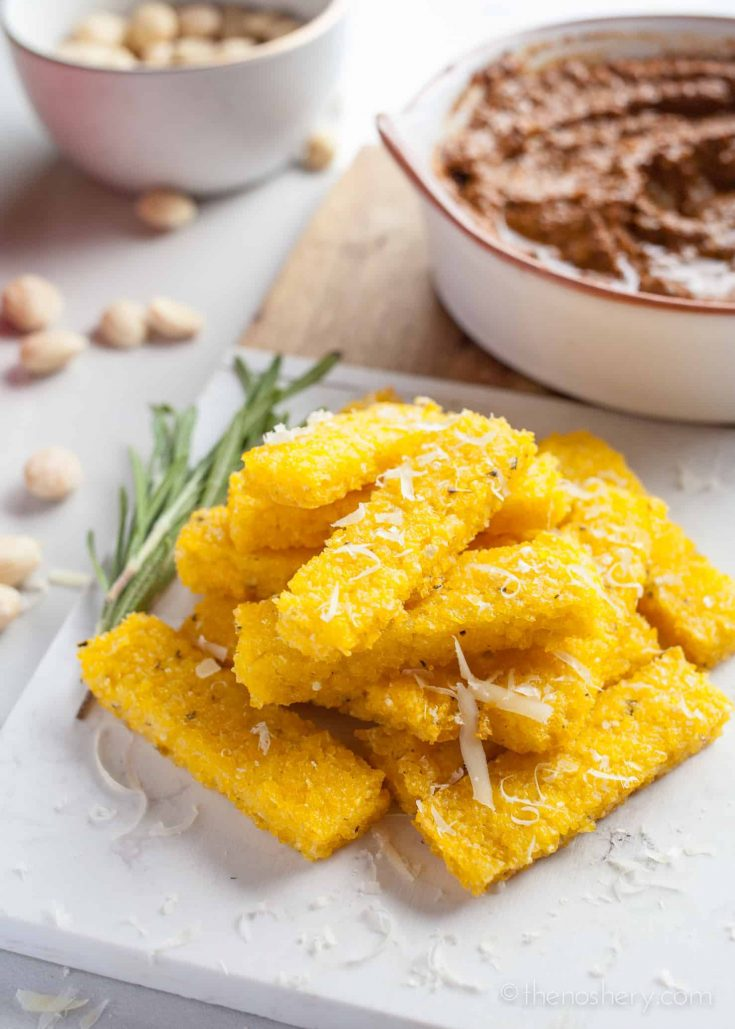 Oven Baked Polenta Fries