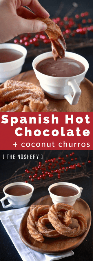 Spanish Hot Chocolate and Churros | The Noshery