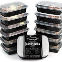Heim Concept Premium Meal Prep Food Containers with Lids 12-pack