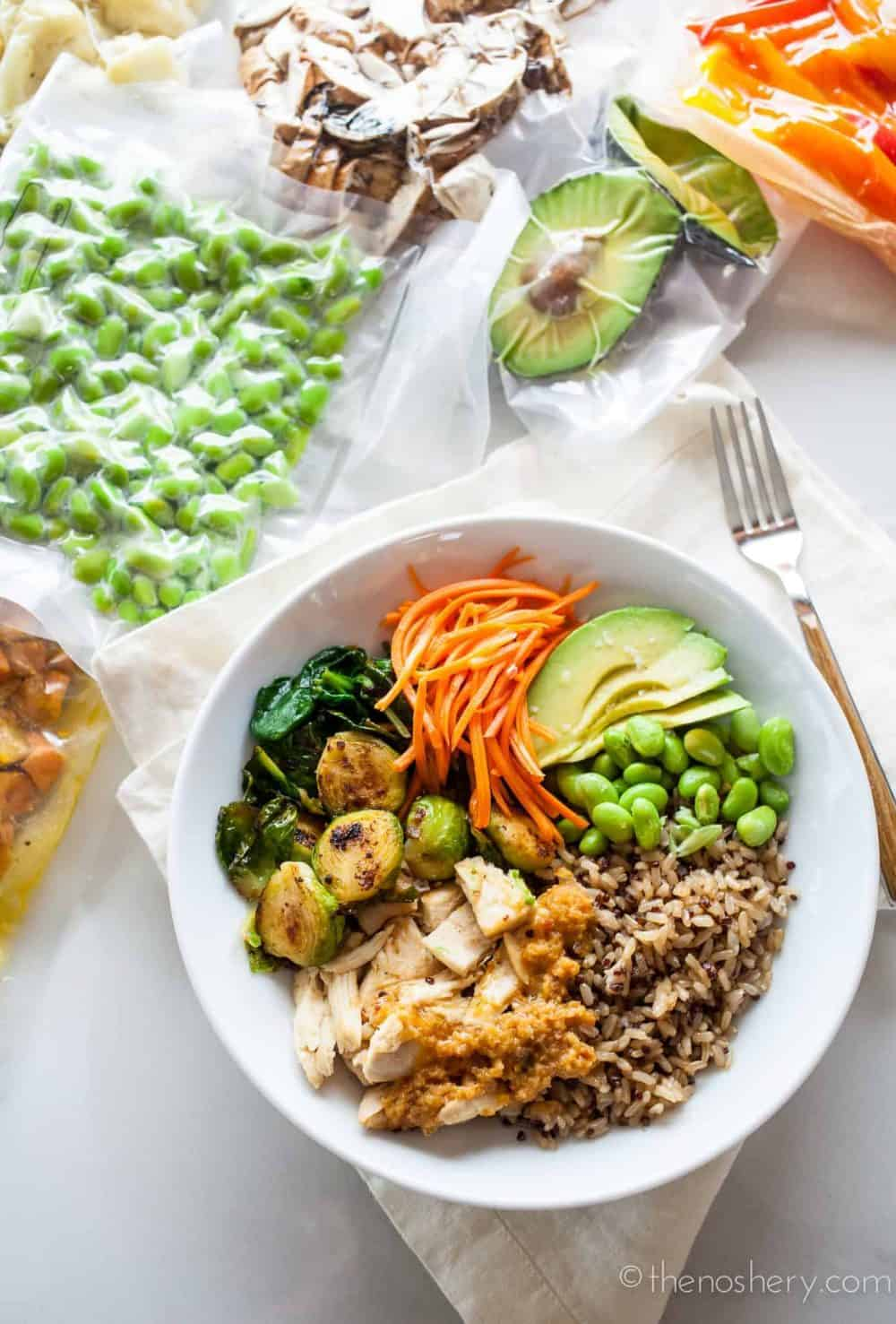Rice Bowl Meal Prep | The Noshery