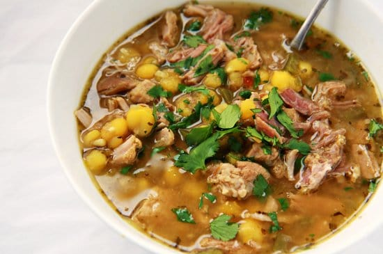 Stay Warm with Some of My Favorite Soups and Stews | Posole: Pork and Hominy Soup | The Noshery