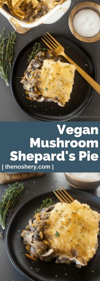 Mushroom Shepherd's Pie | The Noshery