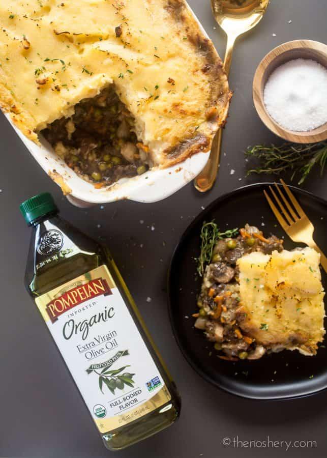 Mushroom Vegan Shepherd's Pie | The Noshery