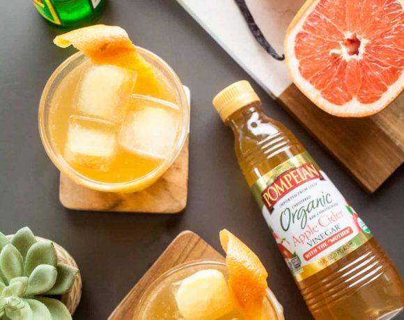 Grapefruit Shrub and Ginger Refresher