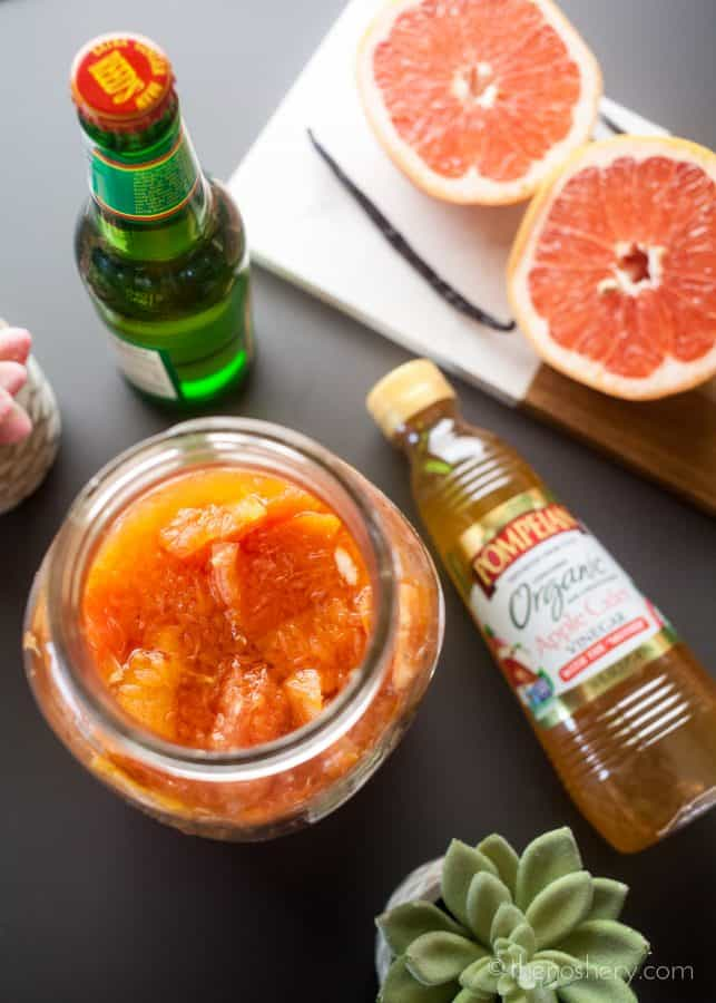 Grapefruit Shrub and Ginger Refresher | The Noshery