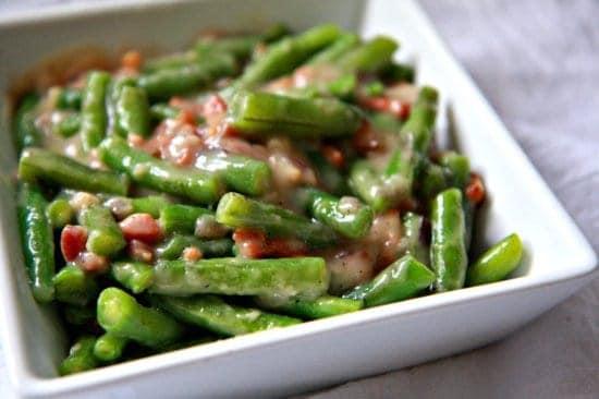 Creamy Green Beans