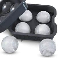 Froz Ice Ball Maker & Novelty Food-Grade Silicone Ice Mold Tray
