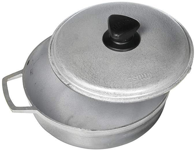 IMUSA USA Traditional Aluminum Caldero
