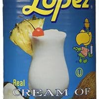 Coco Lopez - Real Cream of Coconut - 15 Ounce Can - Original Fresh Authentic Coconut Cream