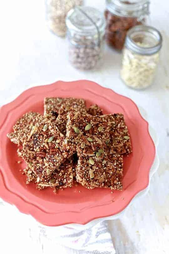 Quinoa Fruit & Nut Bars