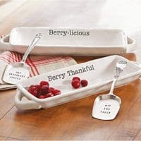 Cranberry Serving Dish Set (Berry-licious)