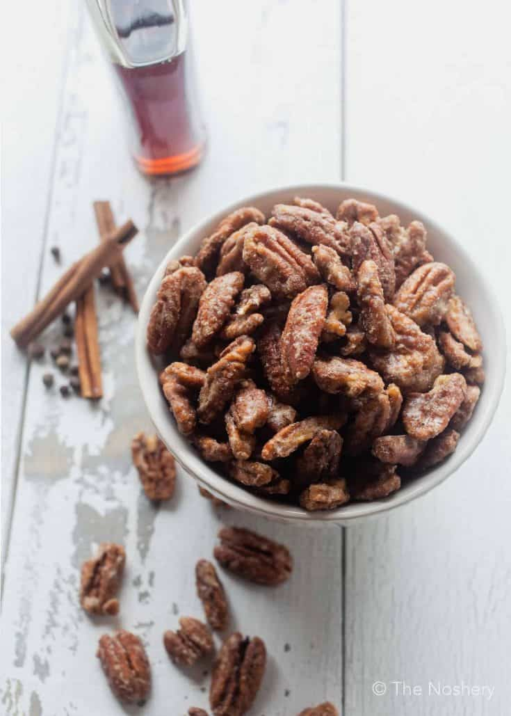 Easy Skillet Spiced Candied Pecans