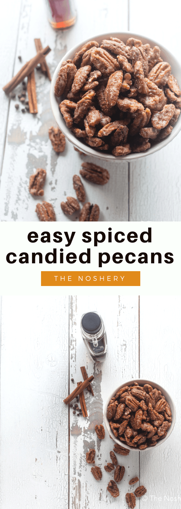 Easy Spiced Skillet Candied Pecans The Noshery