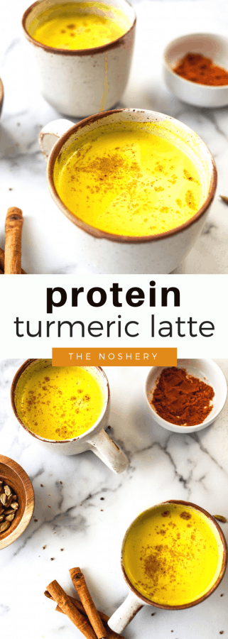Protein Turmeric Latte | The Noshery