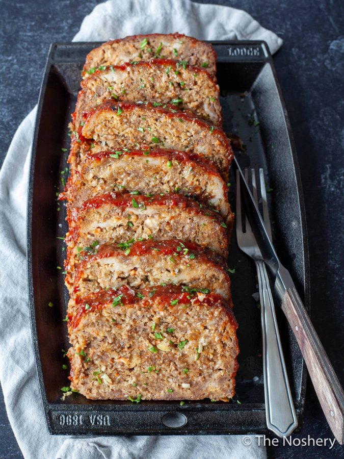 The Best Classic Meatloaf Recipe | Every kitchen needs a classic meatloaf recipe. This easy dinner comes out of the oven tender, flavorful, and filling with a delicious topping. | The Noshery