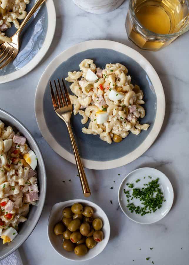 Ensalada de Coditos (Puerto Rican Macaroni Salad)