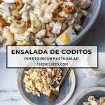 Ensalada de Coditos (Puerto Rican Pasta Salad)