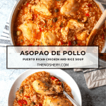Asopao de Pollo (Puerto Rican Chicken and Rice Soup)