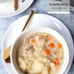 Instant Pot Chicken and Dumplings | The Noshery